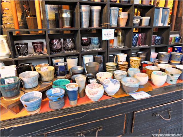 Comercios de Kappabashi-Dori, Tokio