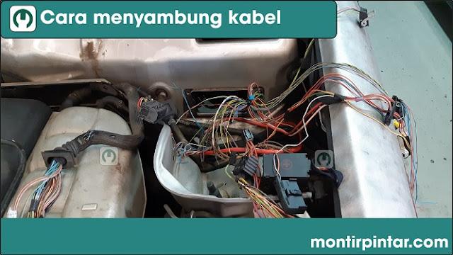 Cara menyambung kabel