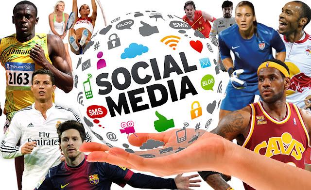 5 razones de las estrellas del deporte para estar en redes