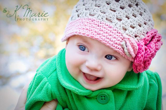 Album bébé qui sourit