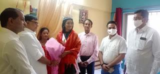 कुमारी मान्या सिंह ने बढ़ाया हिंदीभाषी समाज का गौरव– कृपाशंकर सिंह  | #NayaSaberaNetwork