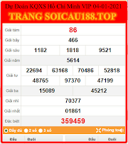 KẾT QUẢ XỔ SỐ HỒ CHÍ MINH VIP - DỰ ĐOÁN KẾT QUẢ HCM VIP 03 - SOICAU188.TOP