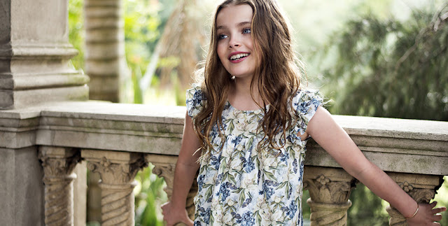 Moda primavera verano 2018. Vestidos primavera verano 2018 ropa de moda infantil.
