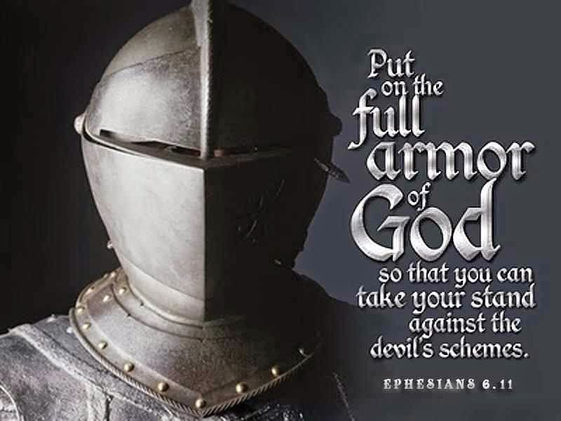 ephesians 6:11 put on the whole armour