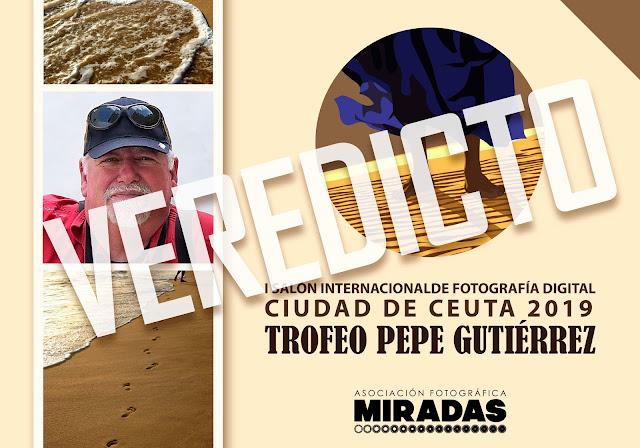 Resultados del I Salón Internacional de Fotografía Ciudad de Ceuta - 'Trofeo Pepe Gutiérrez'