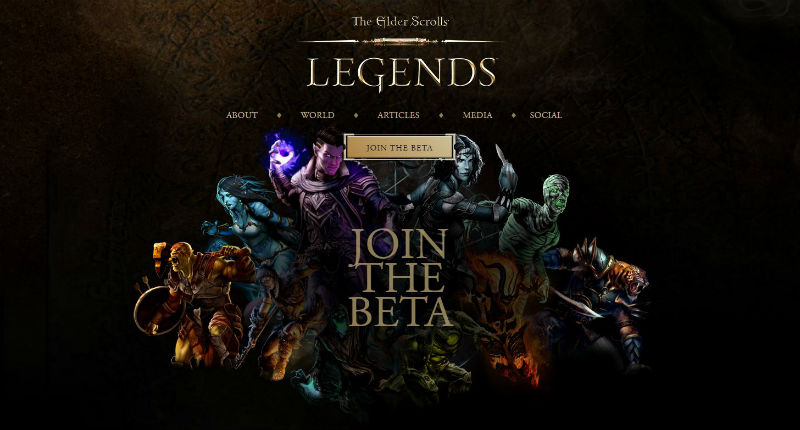 Elder Scrolls: Legends launches PC open beta
