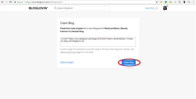 claim your blog on bloglovin (part 9)