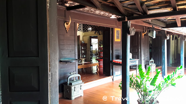 Old teak houses in Lampang, North Thailand