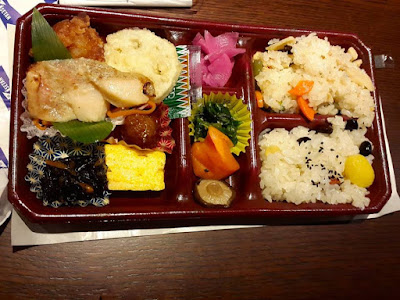 Chicken Meal Box at Isetan Japan