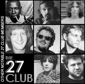 Some Lesser Known 27 Club Members Like Robert Johnson and Richey James Edwards