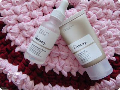 Mi experiencia con productos de The ordinary: Niacinamida y azelaico en mi piel