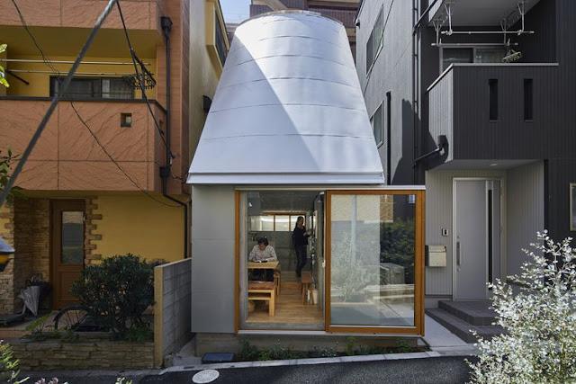 Rumah Mungi Di Jepang Ini Hanya Berukuran 20 Meter Persegi