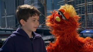 Murray What's the Word on the Street Veterinarian, Sesame Street Episode 4310 Afraid of the Bark season 43