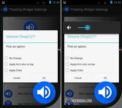 Mengatur Suara Android Dengan Volume ChopCut
