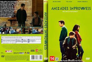AMIZADES IMPROVÁVEIS (2016) DUAL AUDIO DVD-R CUSTOM