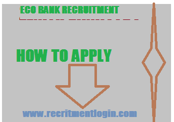 APPLY FOR ECO BANK APRIL RECRUITMENT 2018/2019