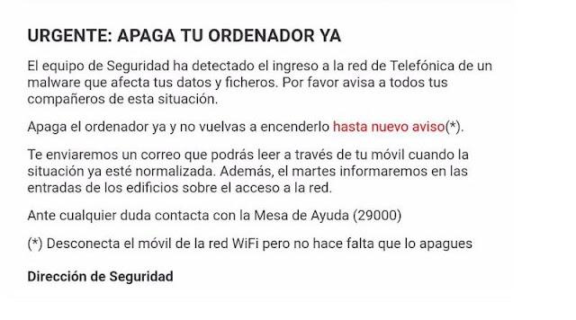 El ataque Ransomware a Telefonica parece que se extiende. WanaCrypt0r, EternalBlue y la NSA.