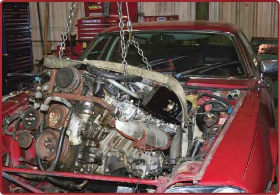 maxxTORQUE: Jaguar XJS to 6 5L Diesel Engine Swap