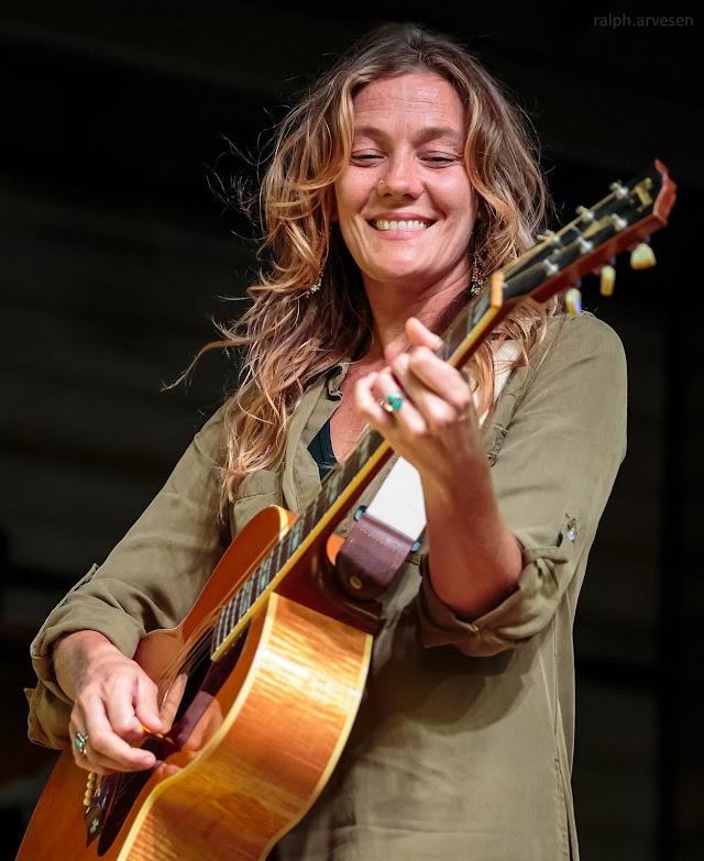 Kelley Mickwee performing at Haute Spot in Cedar Park, Texas