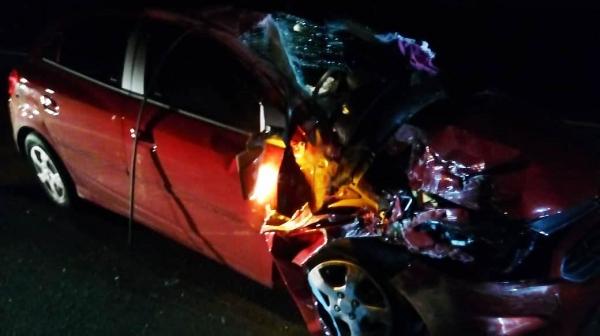 Colisão traseira deixa oito pessoas feridas na Rodovia SP 340