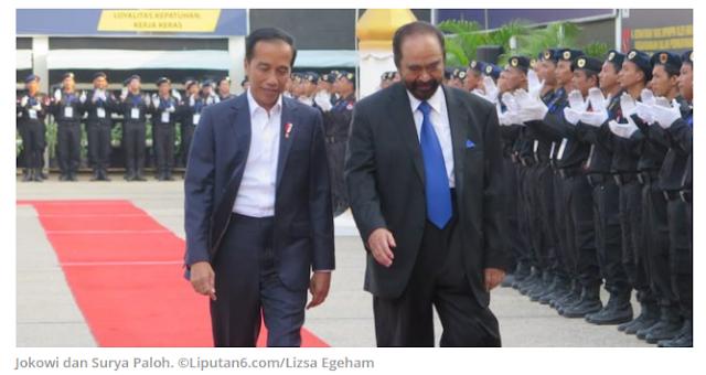 Surya Paloh Ngaku Belum Dapat Bocoran Menteri Jokowi: Mungkin Saya Terakhir