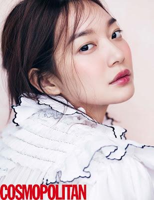 Shin Min Ah Cosmopolitan March 2016