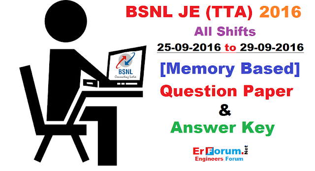 bsnl-je-2016-answer-key