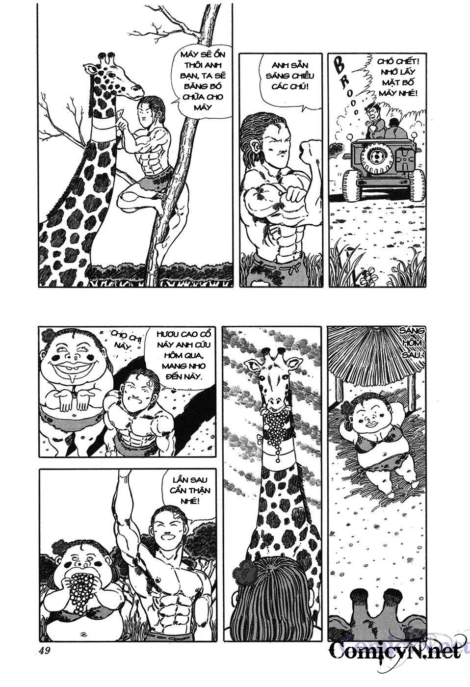 Chúa rừng Ta-chan chapter 6 trang 6