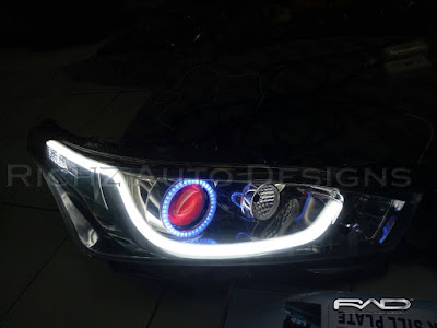 custom headlamp all new yaris