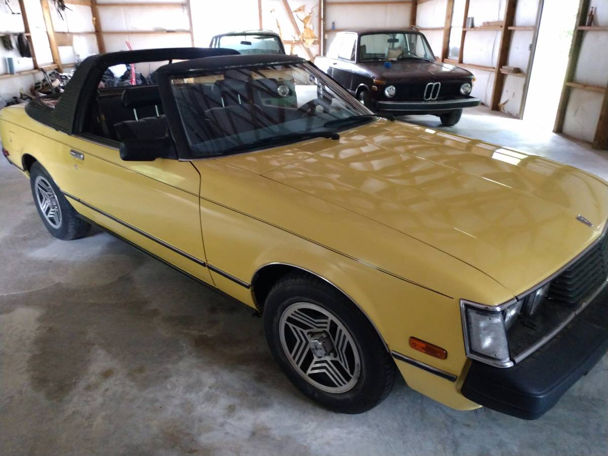 Daily Turismo: Little, Yellow, Different: 1980 Toyota Celica