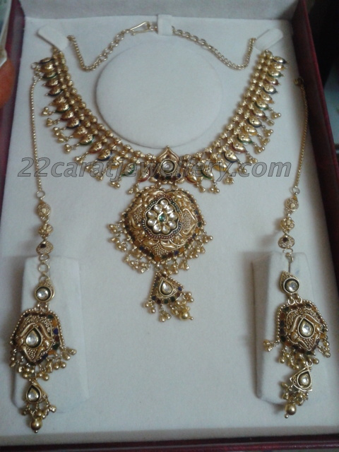 Antique Set By Khazana Jewellery Designs