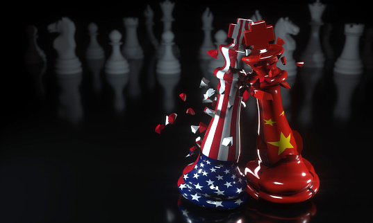 American or Chinese choose sides