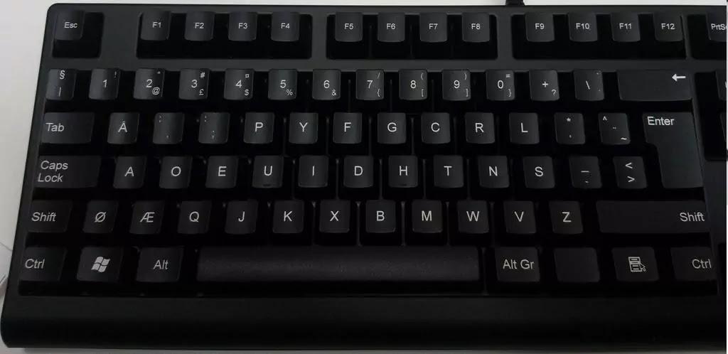 Layout Keyboard Dvorak