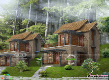731 Square Feet Resort Home Plan - Kerala Design And