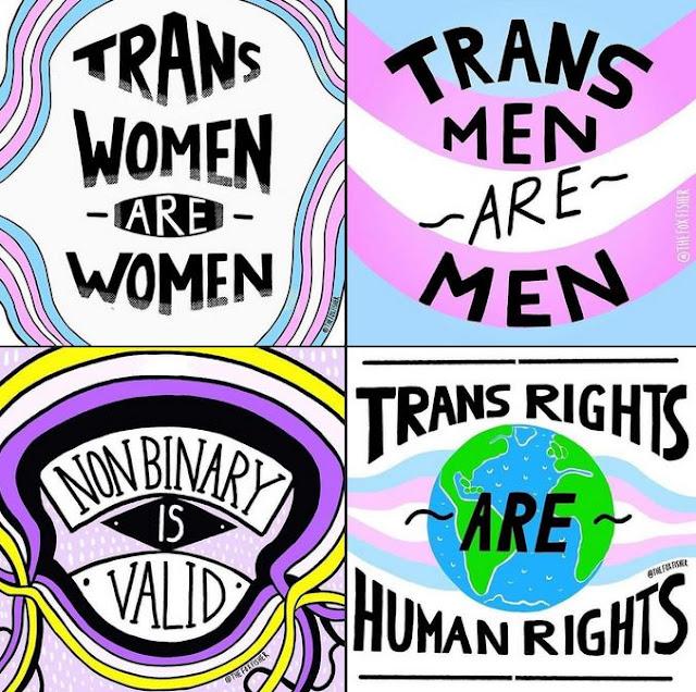 Trans women are women - Trans men are men
