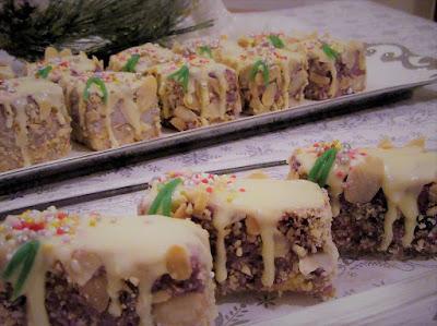 Bijeli božićni kolač / White Christmas cake