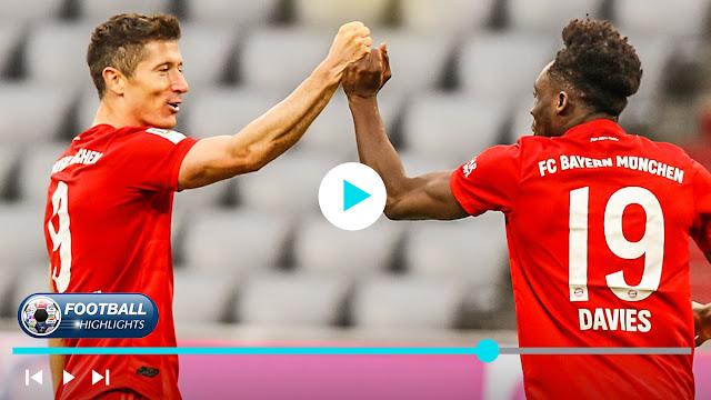 Bayern München vs Fortuna Düsseldorf – Highlights