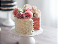 47+ Wedding Cake With Real Flowers Decoration Gif
