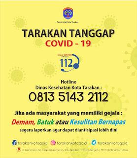 TARAKAN TANGGAP COVID-19 - Tarakan Info