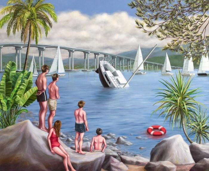 Австралийский художник. Amber Koroluk-Stephenson