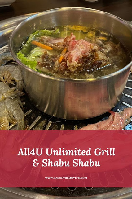 All4U Unlimited Grill & Shabu Shabu review
