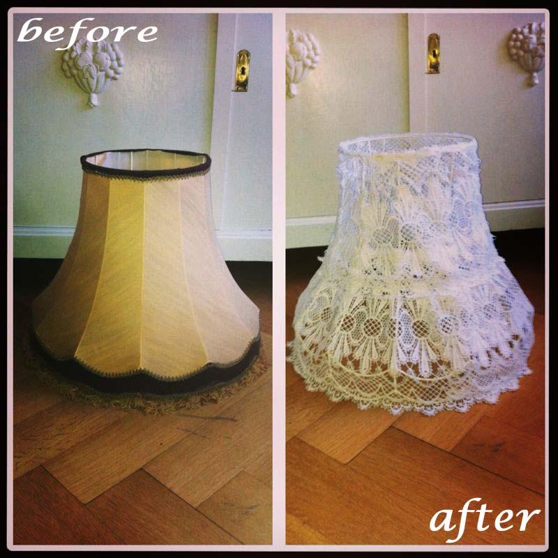 ilses enkel neuer alter lampenschirm. Black Bedroom Furniture Sets. Home Design Ideas