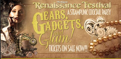Steampunk cocktail party at the 2016 michigan renaissance festival/Ren Faire
