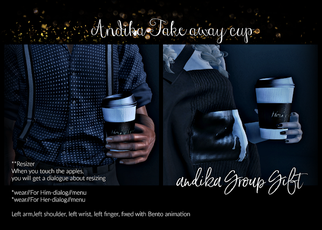 andika Nov Group Gift  [[Take away cup]]