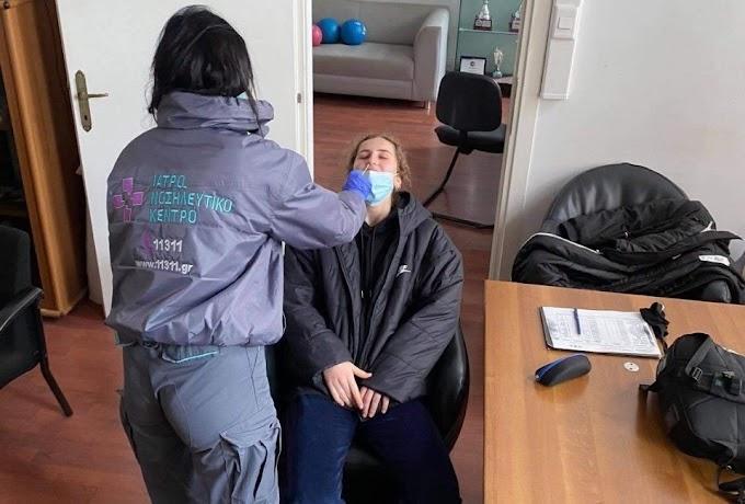 Επιμονή στην τακτική και covid τεστ για τις γυναίκες του ΠΑΟΚ