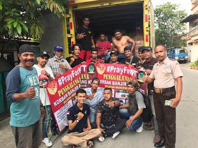 Posko 1 Hati Untuk NTT Dan Warga Tegal Alur Jakarta Barat Mengirim Bantuan Untuk Korban Bencana di NTT