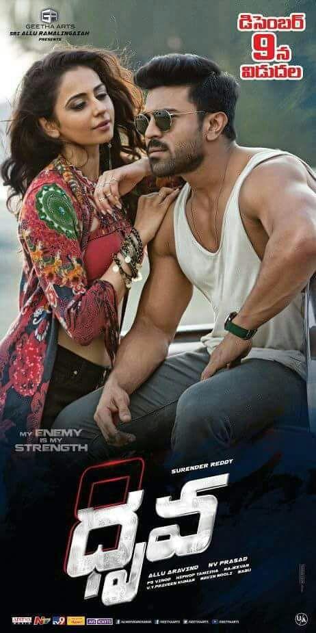 Ram Charan, Rakul Preet Singh Dhruva Release Date Posters