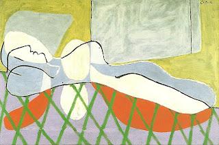 """Mujer Acostada"", Pablo Picasso"