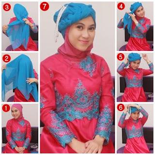 Tutorial Hijab Untuk Kebaya Modern Terbaru