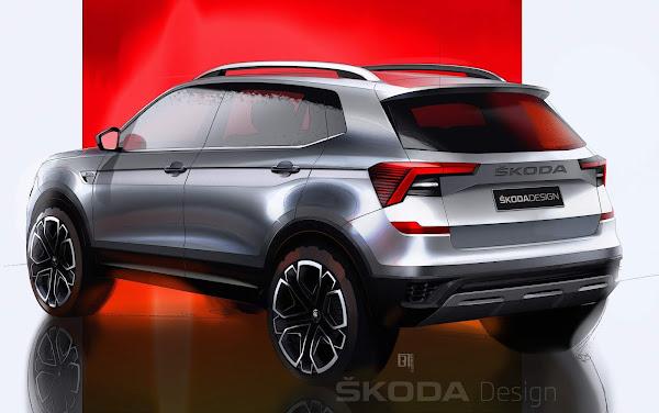 Škoda Kushaq: novo SUV compacto do Grupo VW: lançamento em março